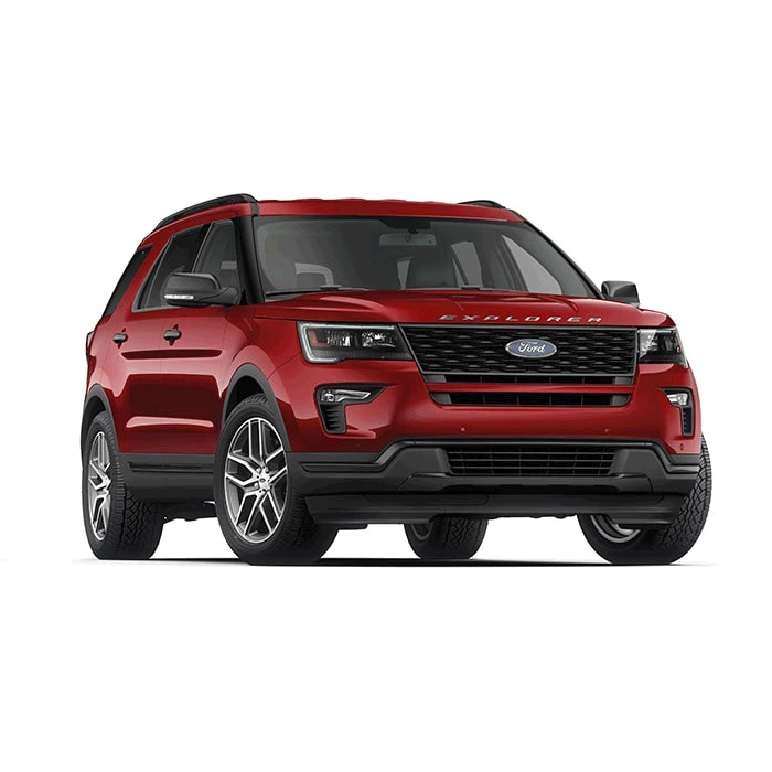 Ford Explorer Ruby Red Philippines