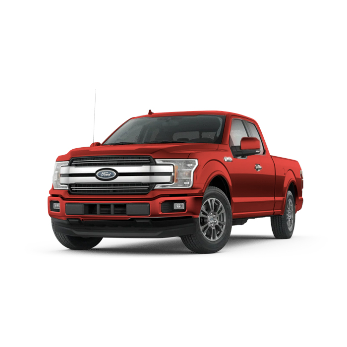 Ford F-150 Rapid Red