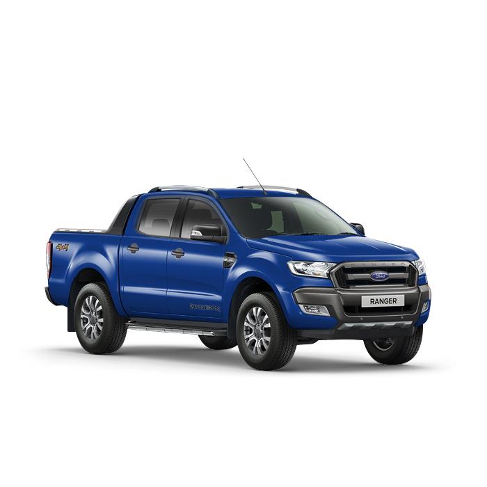Ford Ranger Aurora Blue