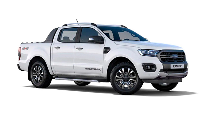 ford ranger cool white