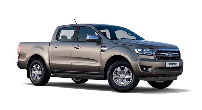 ford ranger Diffused Silver
