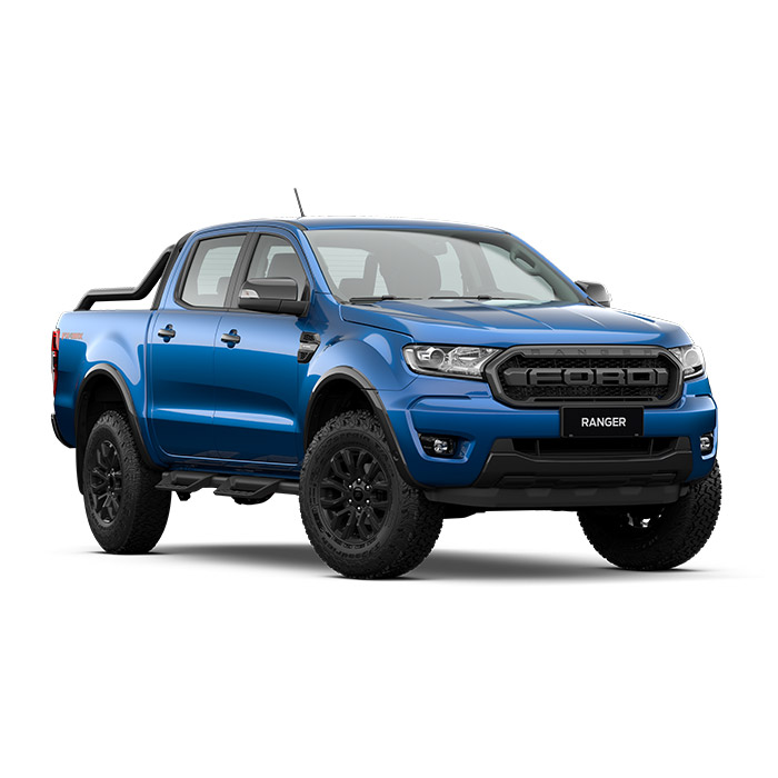 Ford Ranger FX4 Lightning Blue