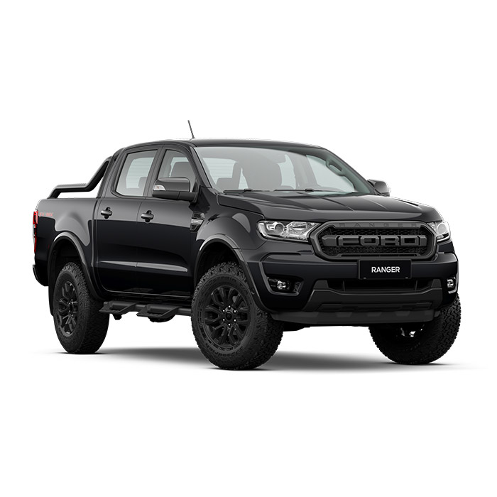 Ford Ranger FX4 Max absolute black
