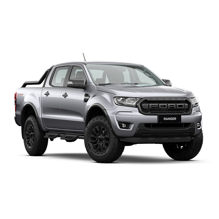 Ford Ranger FX4 Max Aluminum Metallic