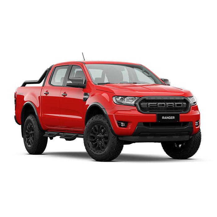 Ford Ranger FX4 Max True Red