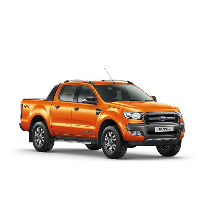 Ford Ranger Pride Orange