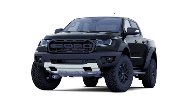 ford ranger raptor absolute black