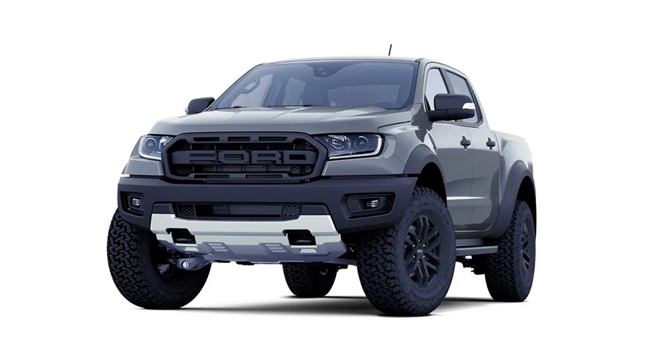 ford ranger raptor conquer gray