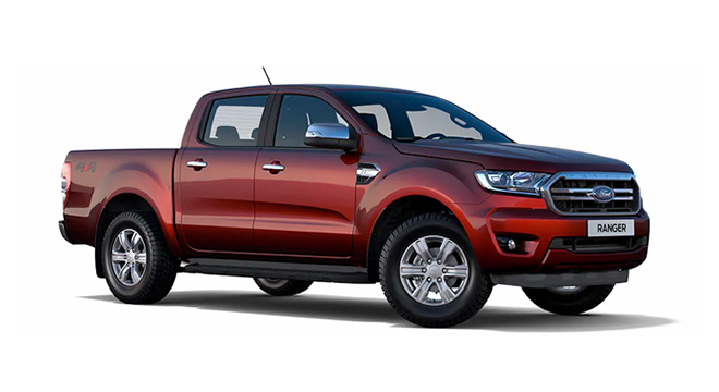 ford ranger Sunset Red
