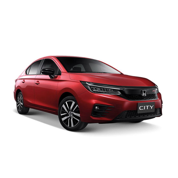 Honda City Ignite Red Metallic