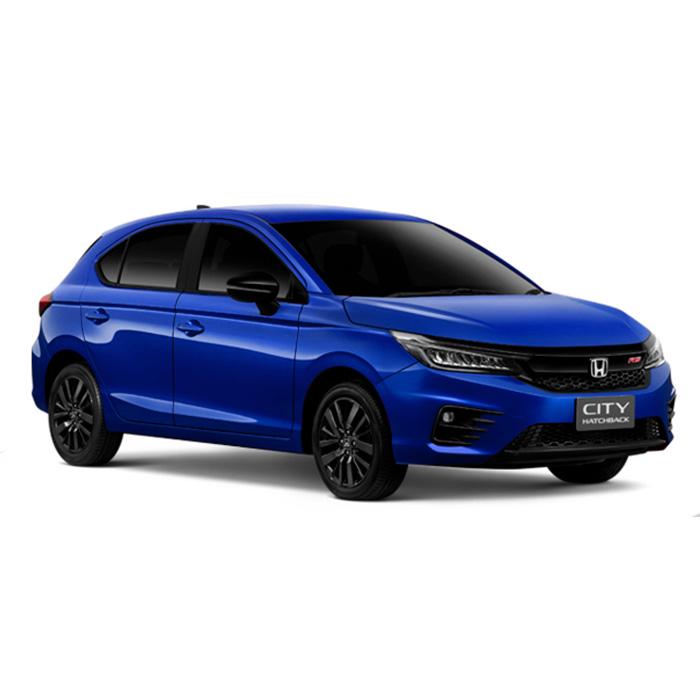 Honda City RS Hatchback Brilliant Sporty Blue