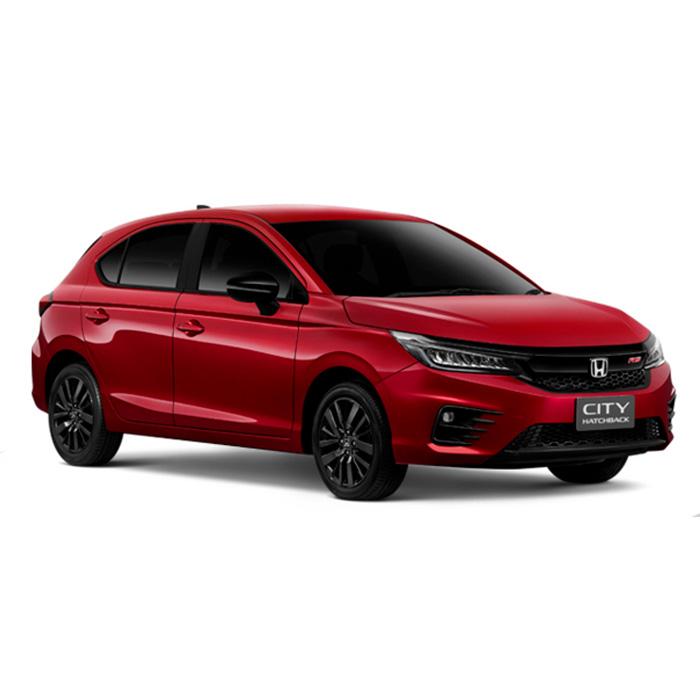 Honda City RS Hatchback Ignite Red Metallic
