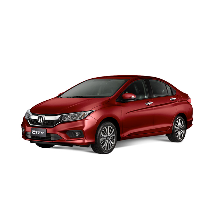 Honda City Ruby Red Pearl