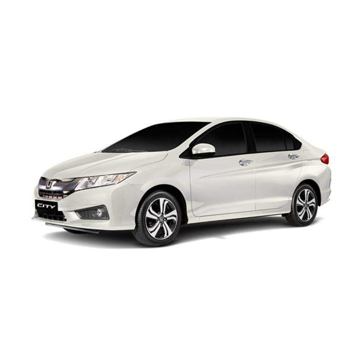 Honda City Taffeta White