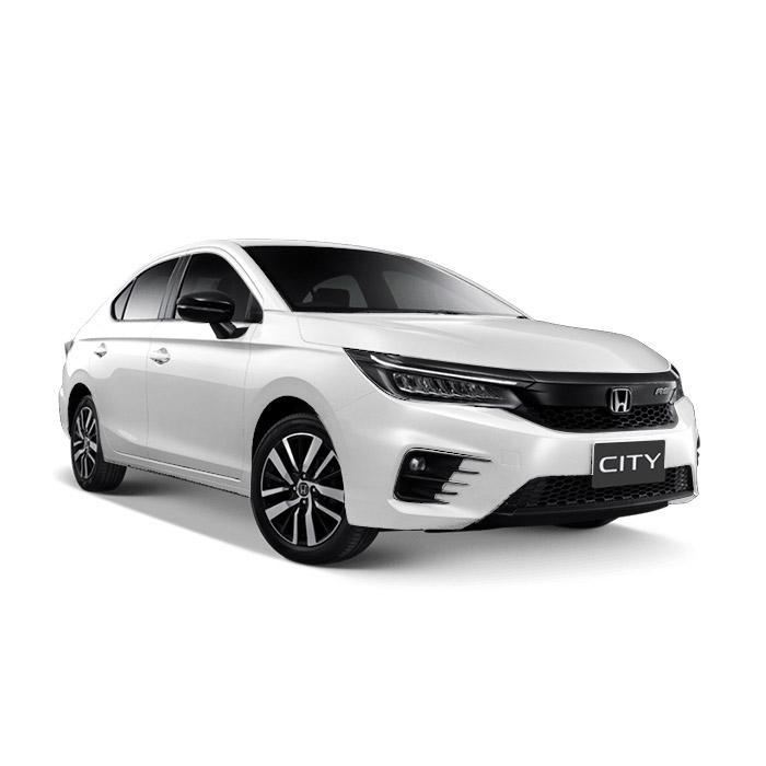 Honda City Taffeta White