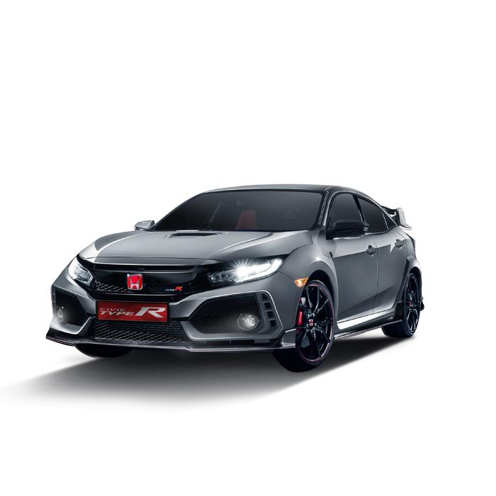 Honda Civic Type R Sonic Grey Pearl