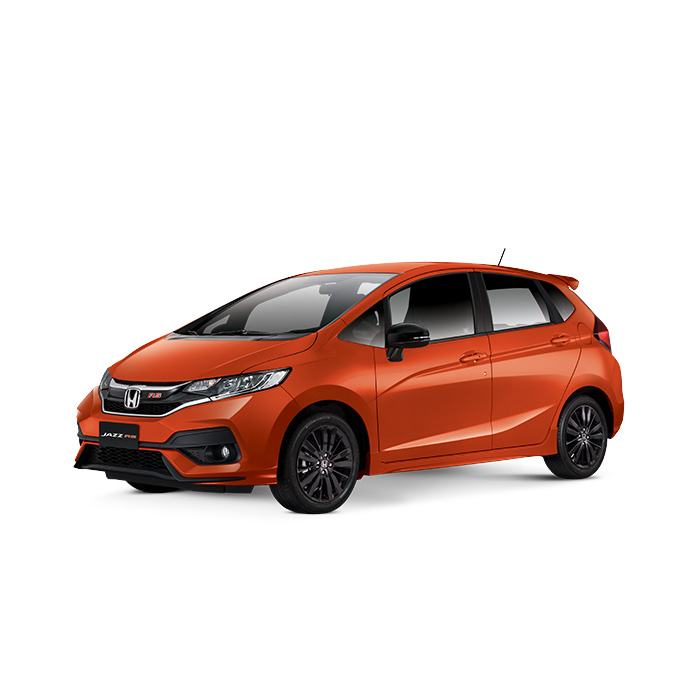 Honda Jazz Phoenix Orange Pearl