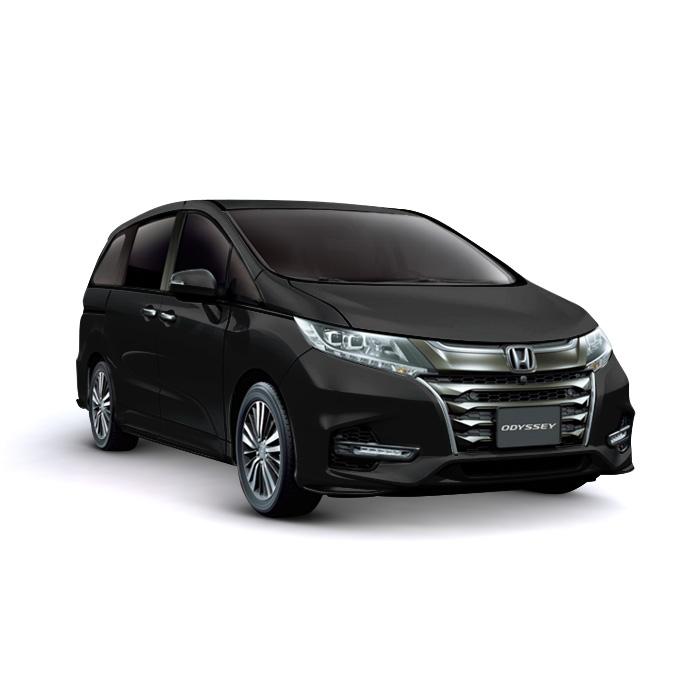 Honda Odyssey Crystal Black Pearl