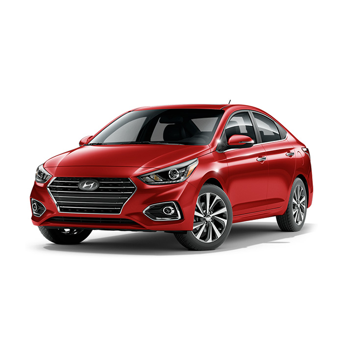 Hyundai Accent Fiery Red