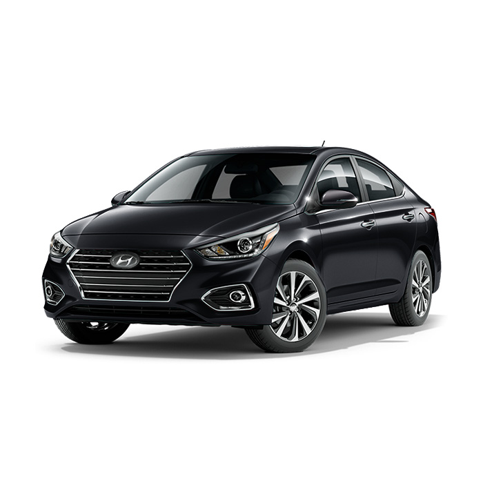 Hyundai Accent Phantom Black