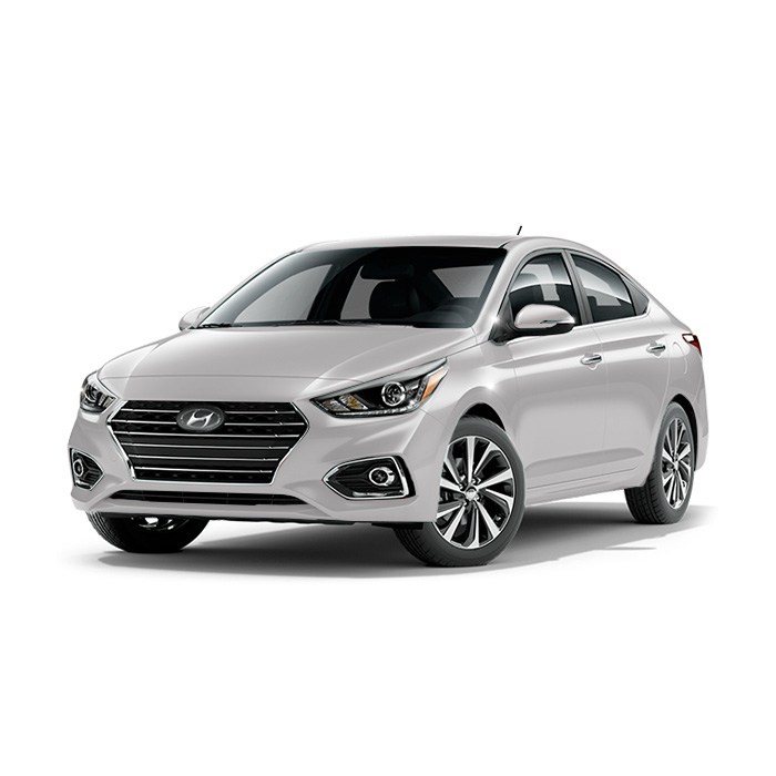 Hyundai Accent Polar White