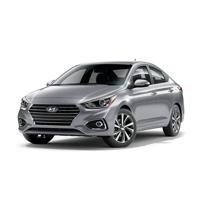 Hyundai Accent Sleek Silver