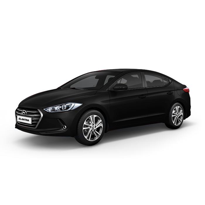 Hyundai Elantra Phantom Black