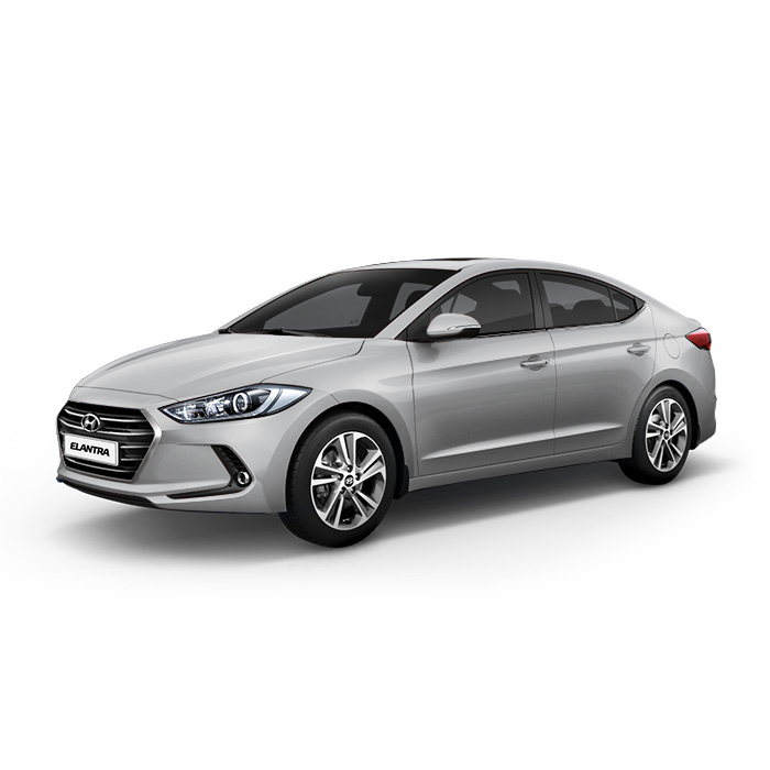Hyundai Elantra Platinum Silver