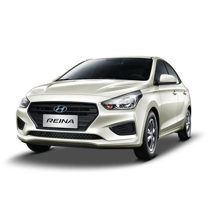 Hyundai Reina Glowing Silver Philippines