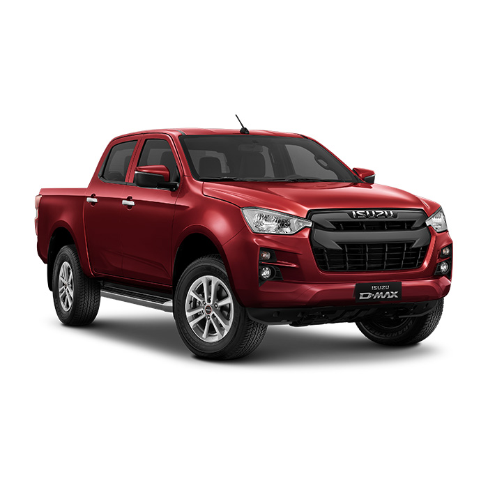 Isuzu D-Max LS 3.0 4x2 Red Spinel