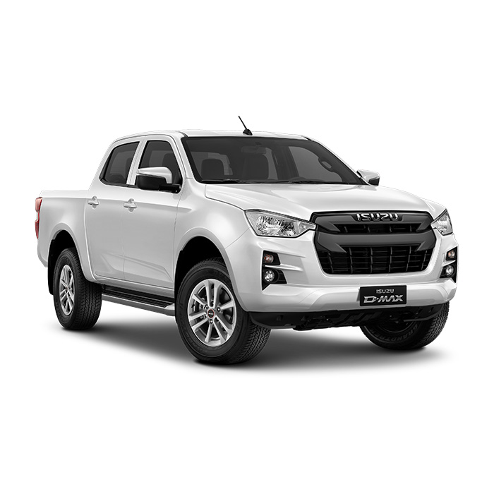 Isuzu D-Max LS 3.0 4x2 Splash White