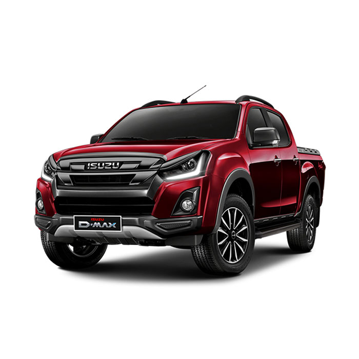 Isuzu D-Max Red Spinel