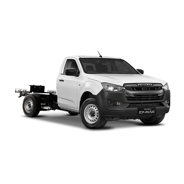Isuzu D-Max RZ4E 4x2 Single Cab MT Splash White