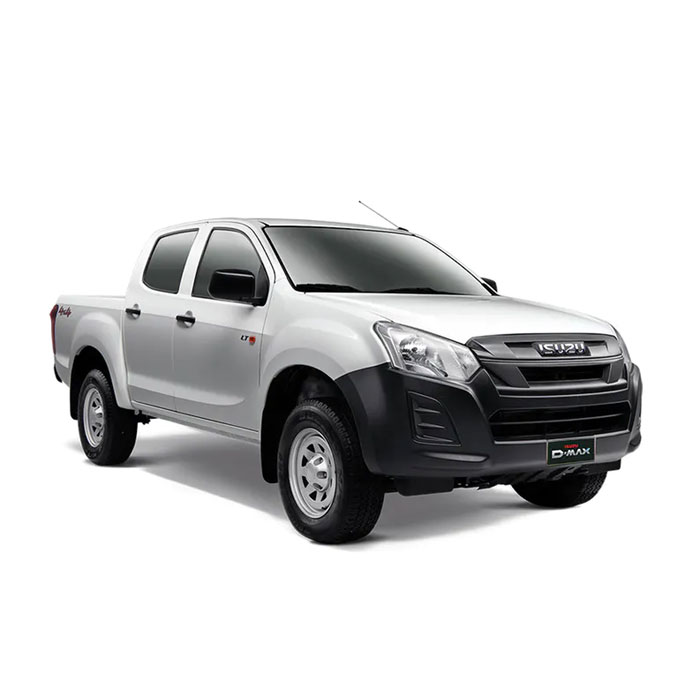 Isuzu D-Max Splash White