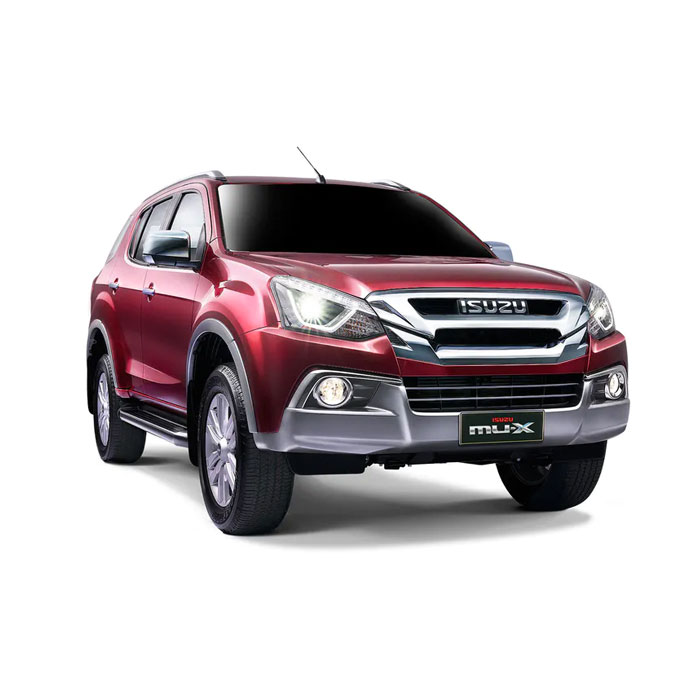 Isuzu mu-X Luxe Red Spinel