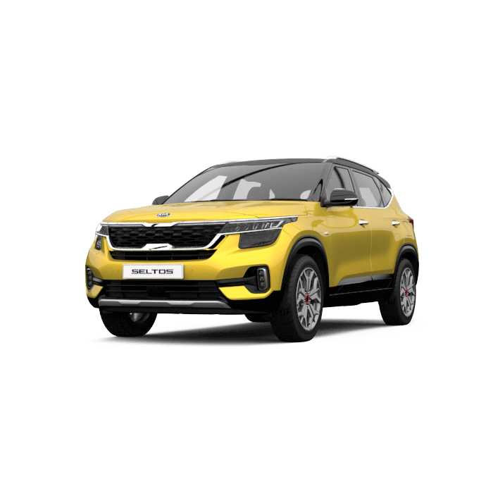 Kia Seltos Starbright Yellow two-tone