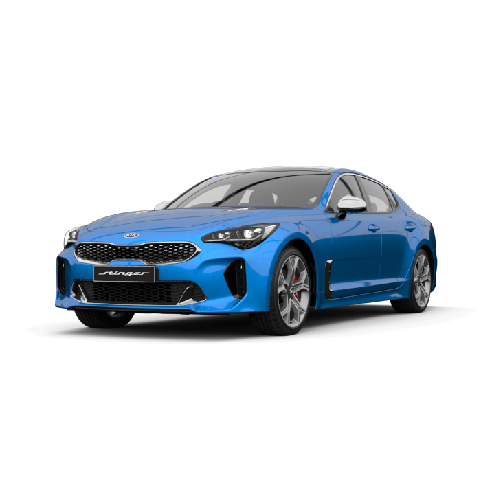 Kia Stinger GT Micro Blue