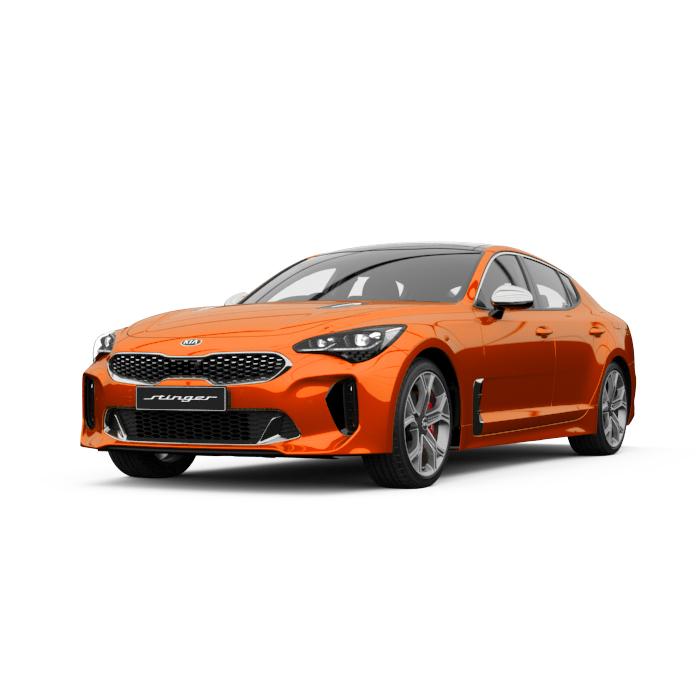 Kia Stinger GT Micro Orange