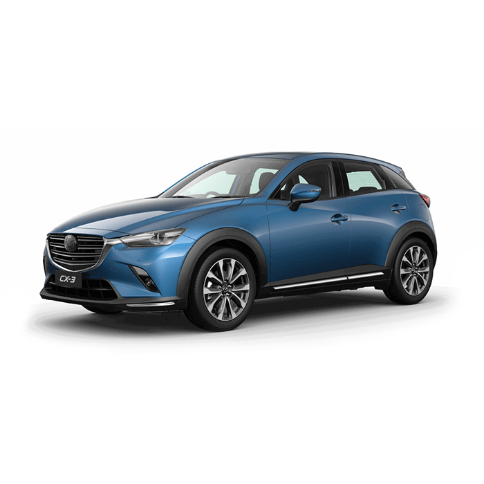Mazda CX-3 Eternal Blue