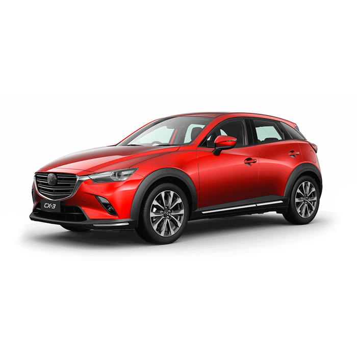 Mazda CX-3 Soul Red Crystal