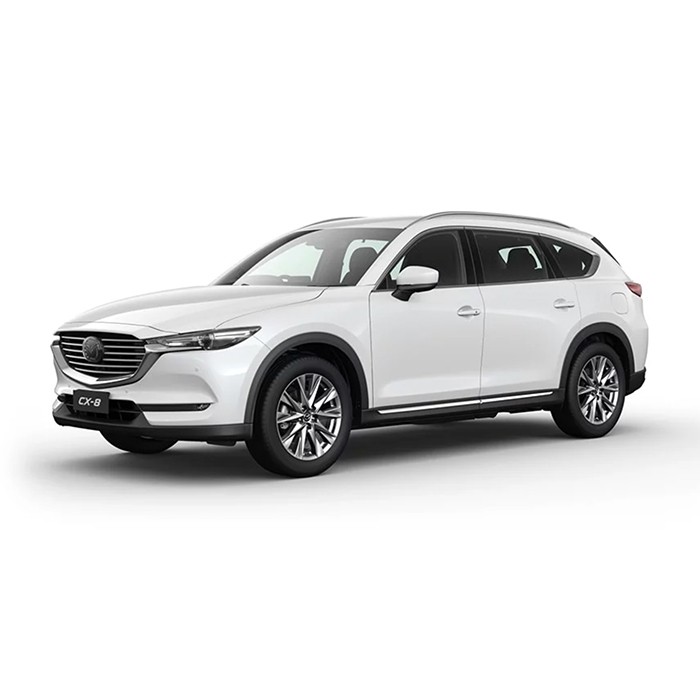 Mazda CX-8 Snowflake White Pearl