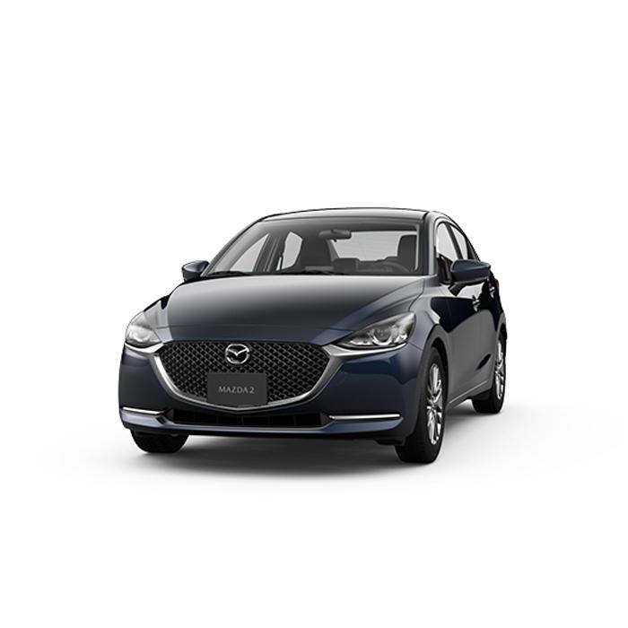 Mazda2 sedan Eternal Blue Philippines