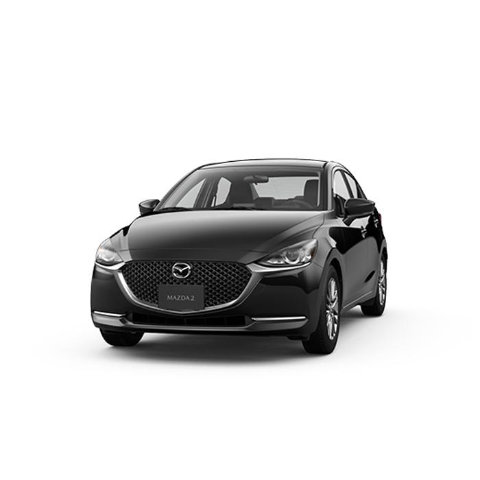 Mazda2 sedan Jet Black