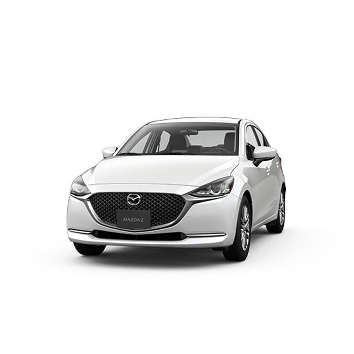 Mazda2 sedan Snowflake White Pearl Philippines