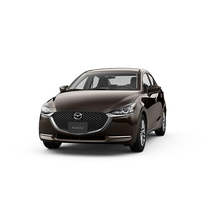 Mazda2 sedan Titanium Flash