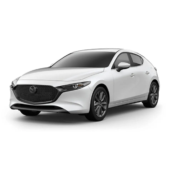Mazda3 Sportback Hatchback Snowflake White Pearl