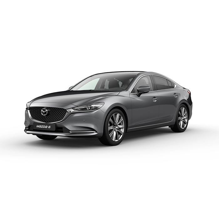Mazda6 sedan Machine Gray