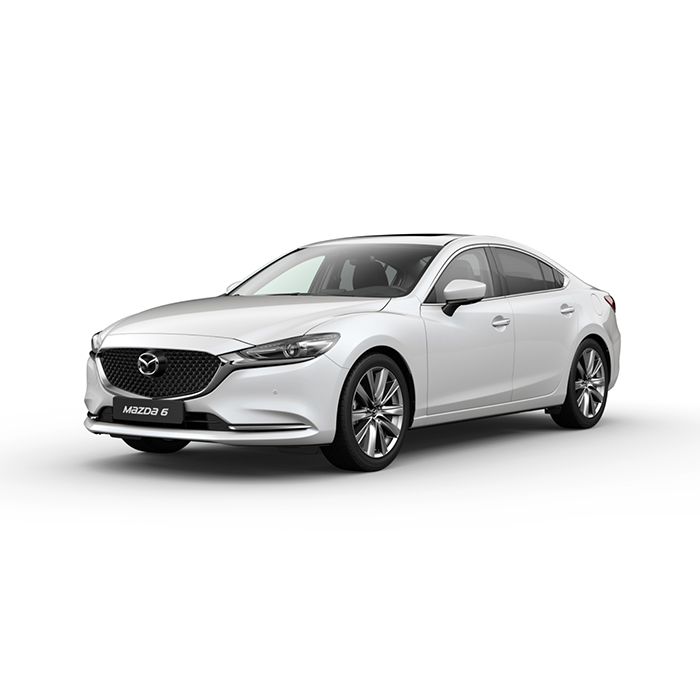 Mazda6 sedan Snowflake White Pearl philippines