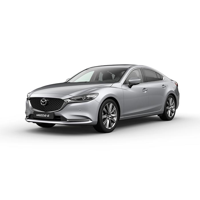 Mazda6 sedan Sonic Silver