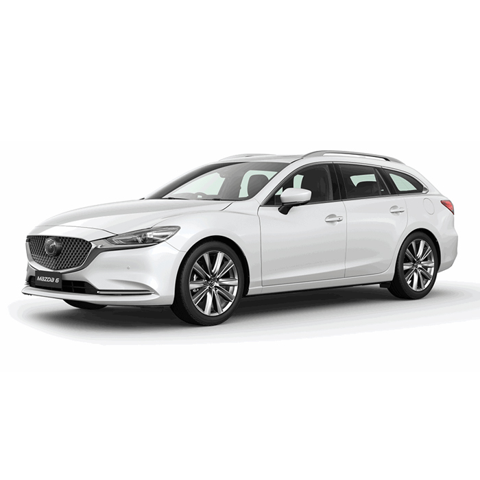 mazda6 sports wagon Snowflake White Pearl